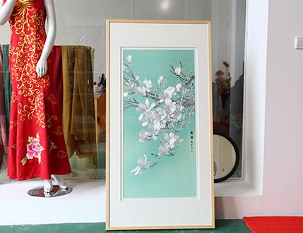 苏绣工艺师:瞿红芬