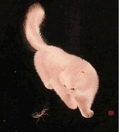 苏绣国礼案例--苏绣《猫》