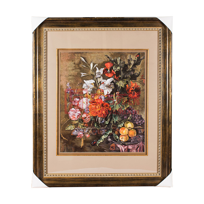 苏绣装饰画|手工刺绣挂画|客厅玄关壁画|油画风格苏绣画