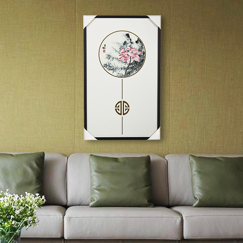 苏州苏绣刺绣成品挂画客厅卧室玄关书房刺绣装饰画精品装饰壁画饰